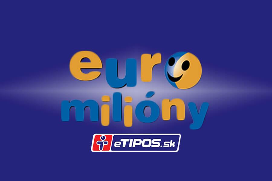 Euromiliíny tipos online lotéria prehľad a výsledky